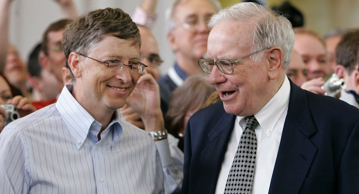 Want to successful? Get these tips that Bill Gates & Warren Buffett have in common...