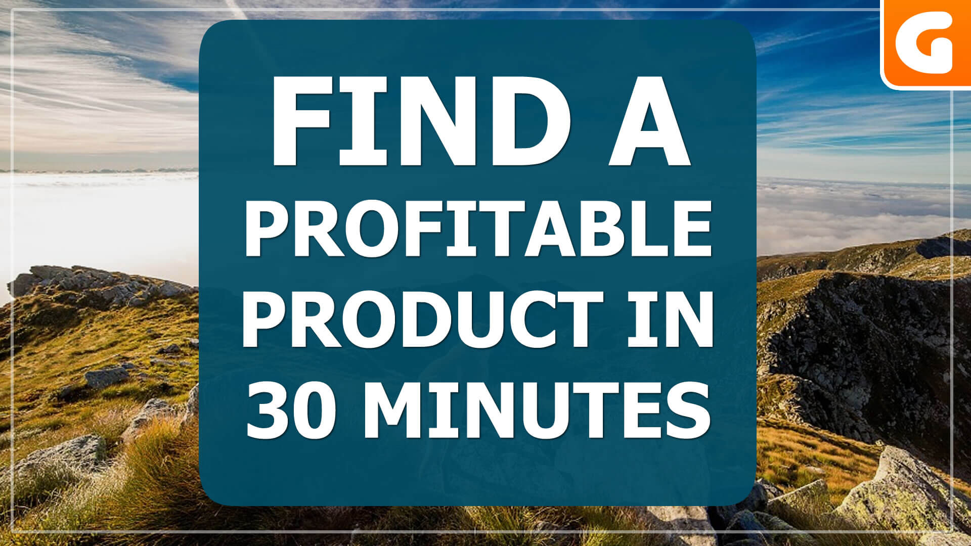 How To Find Profitable Products Online in Just 30 Minutes