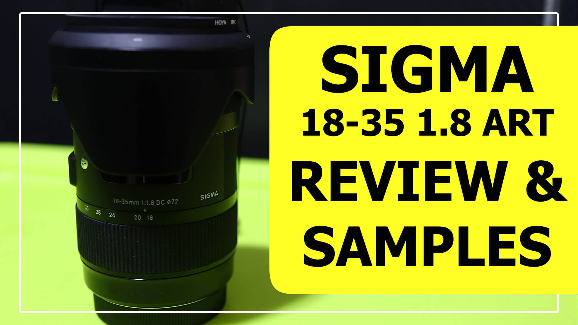Sigma 18-35 1.8 Review with Sample Images & Footage with Canon M6 & EOS M EF Adaptor