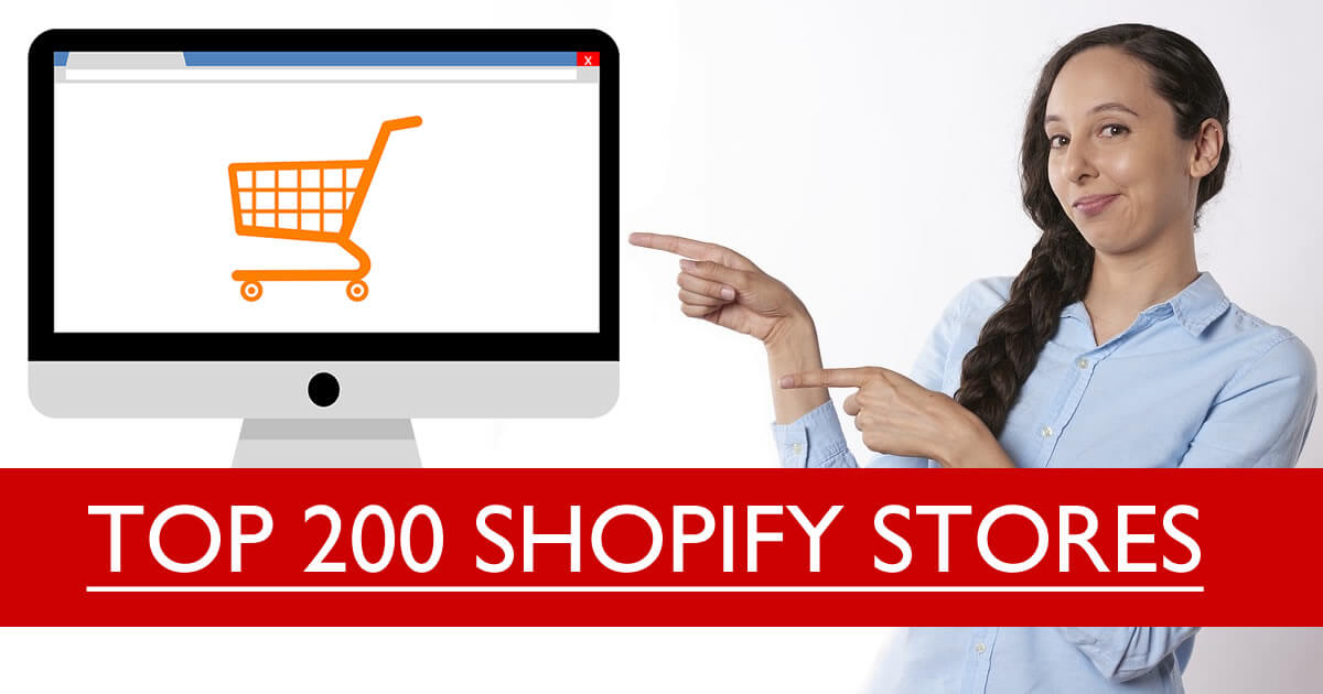 top 200 shopify store directories research