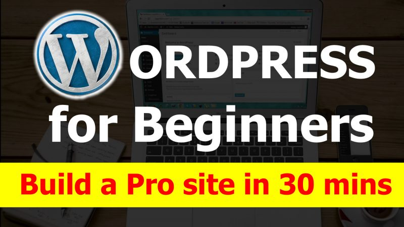 WordPress For Beginners & Newbies – Create A Professional Website or Ecom Site In Just 30 Minutes